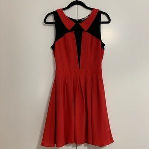 Sugarlips Dresses - Colorblock dress. Like new. Worn once. Size M